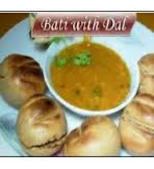 Dal-Bati (applied with pure ghee)