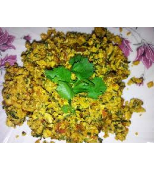 Egg bhurji combo
